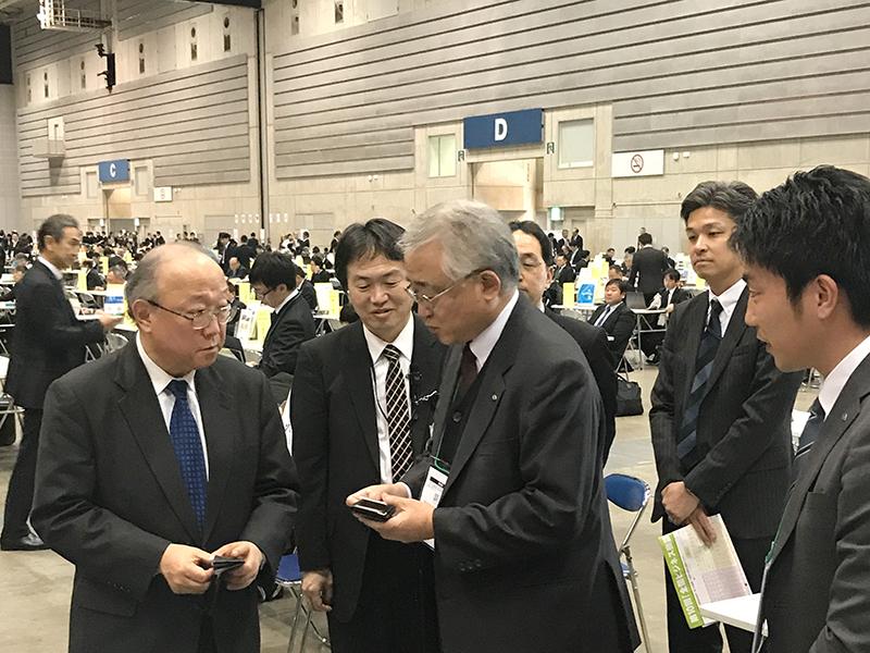 「第9回全国ビジネス商談会」(主催:日本政策金 …