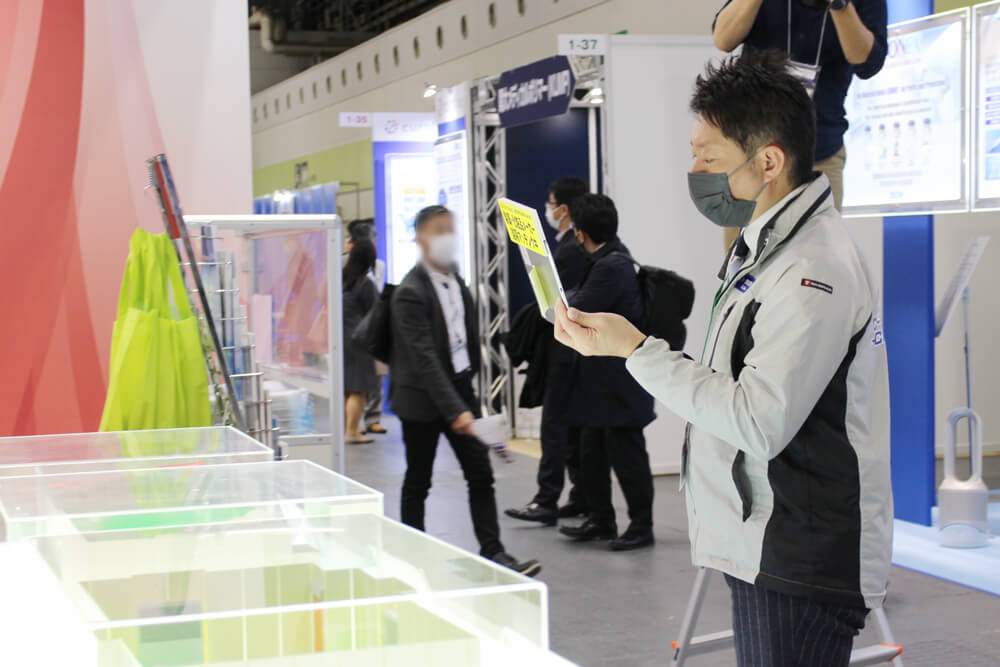 第7回再生医療EXPO大阪オンライン商談の様子