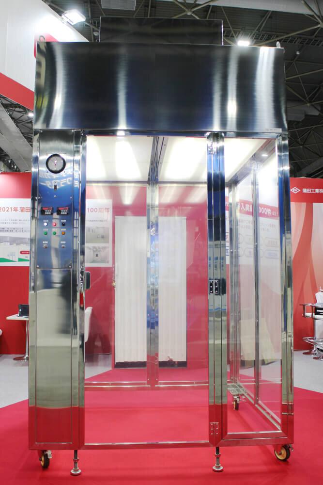 再生医療EXPO「大阪」の展示製品ステンレス製クリーンブース