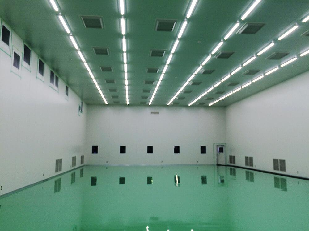 蒲田工業のクリーンブースのイメージ